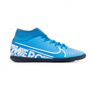 Zapatilla Nike Mercurial Superfly VII Club IC Blue hero-White-Obsidian