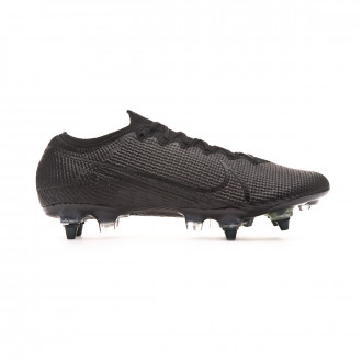 Football Boots Nike Mercurial Vapor XIII Elite ACC SG-Pro Black-Matte silver-Metallic cool grey
