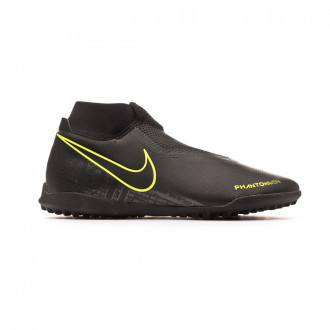 Chaussure de football Nike Phantom Vision Academy DF Turf Black-Volt
