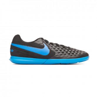 Sapatilha de Futsal  Nike Tiempo Legend VIII Club IC Black-Blue hero