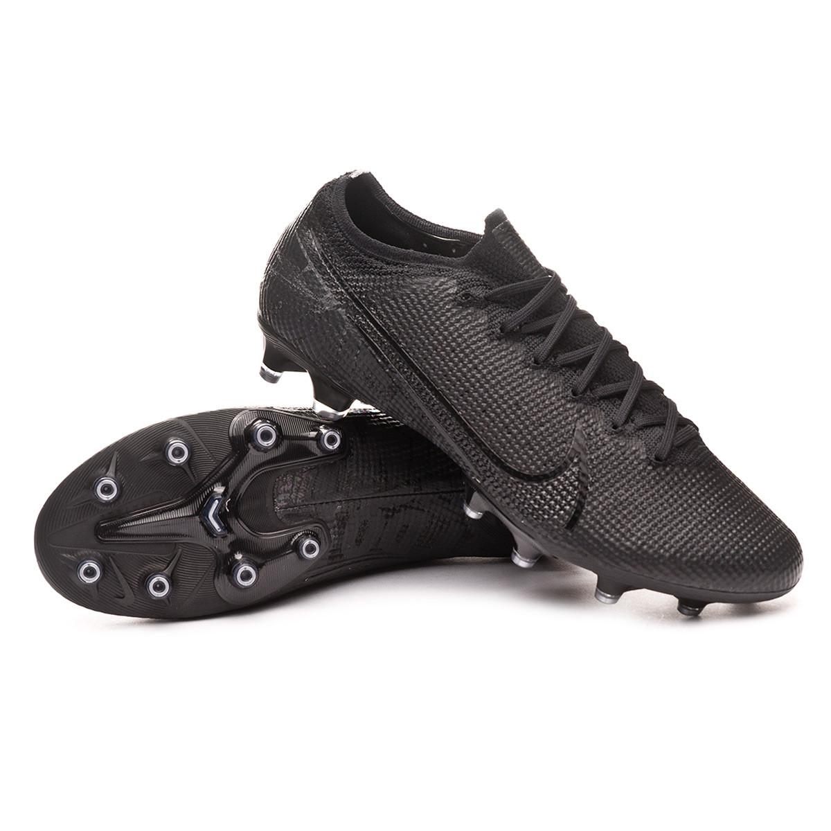 Saga termómetro asistente  Football Boots Nike Mercurial Vapor XIII Elite AG-Pro Black-Dark grey -  Football store Fútbol Emotion