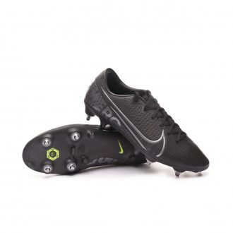 Football Boots Nike Mercurial Vapor XIII Academy ACC SG-Pro Black-Metallic cool grey