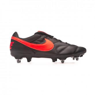 Chuteira Nike Tiempo Premier II ACC SG-Pro Black-Hyper crimson-Black