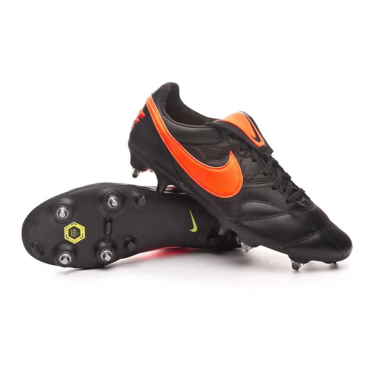 Correo Entrada Polar  Football Boots Nike Tiempo Premier II SG-PRO Anti-Clog Traction Black-Hyper  crimson-Black - Football store Fútbol Emotion
