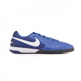 Chaussure de futsal Nike React Tiempo Legend VIII Pro IC Hyper royal-White-Deep royal blue