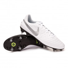 Football Boots Tiempo Legend VIII Academy ACC SG-Pro White-Chrome-Pure platinum