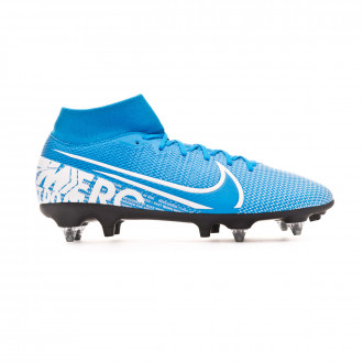 Chaussure de foot Nike Mercurial Superfly VII Academy ACC SG-Pro Blue hero-White-Obsidian