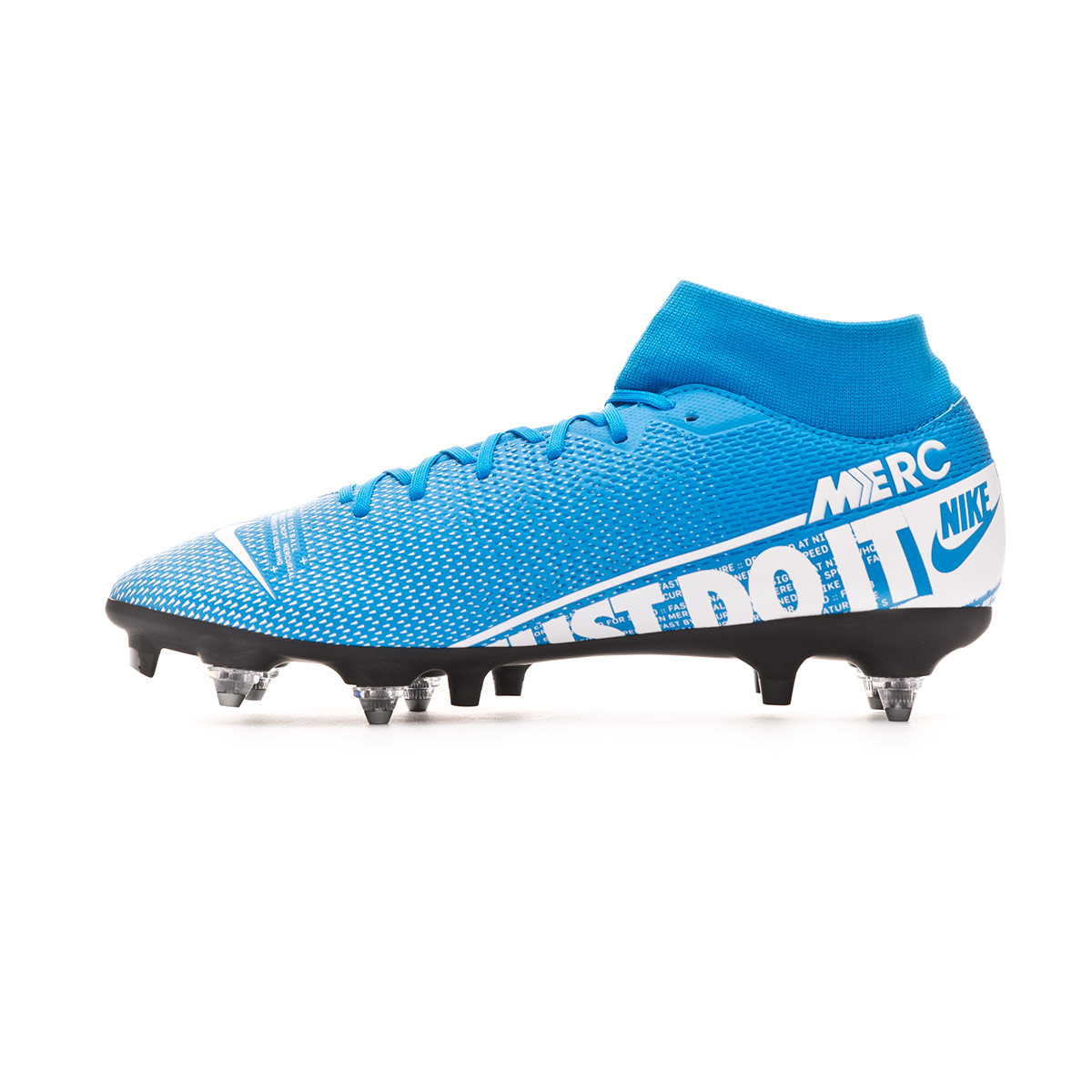 size 40 27d5c aad89 Bota Mercurial Superfly VII Academy ACC SG-Pro Blue hero-White-Obsidian