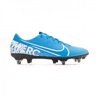 Chuteira Nike Mercurial Vapor XIII Academy ACC SG-Pro Blue hero-White-Obsidian