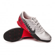 Chaussure de futsal Mercurial Vapor XIII Academy IC Neymar Jr Chrome-Black-Red orbit-Platinum tint