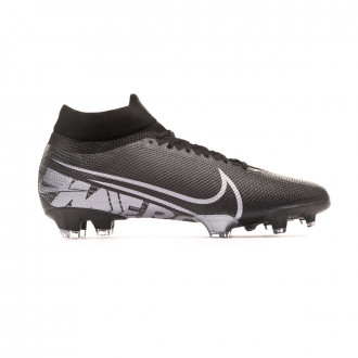 Football Boots Nike Mercurial Superfly VII Pro FG Black-Metallic cool grey