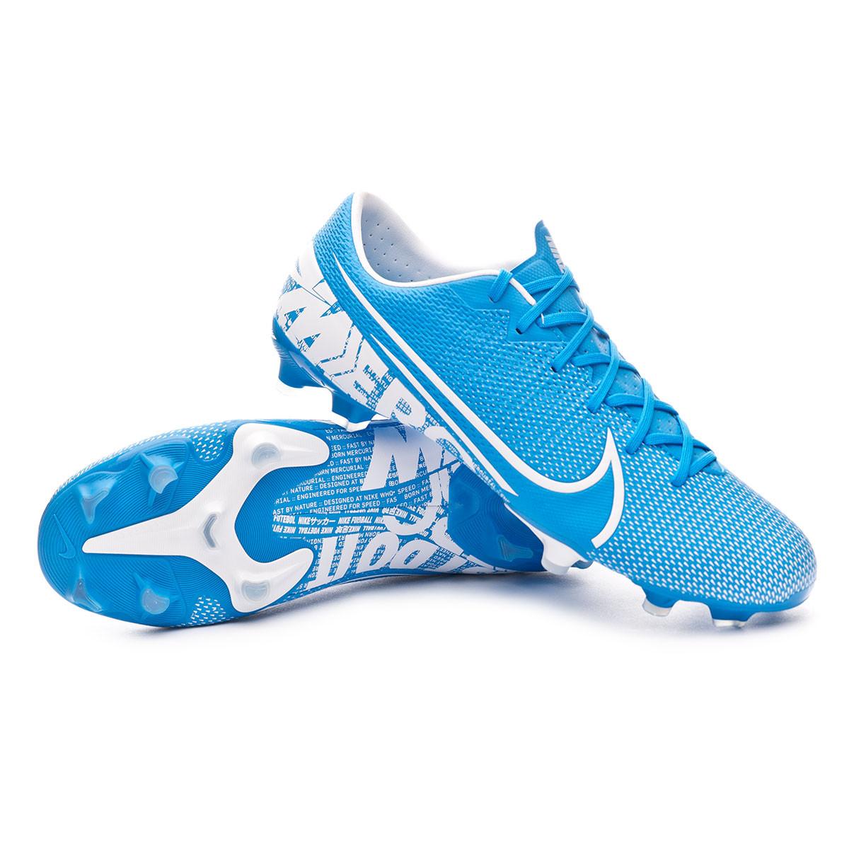anillo entre Extremadamente importante  Football Boots Nike Mercurial Vapor XIII Academy FG/MG Blue  hero-White-Obsidian - Football store Fútbol Emotion