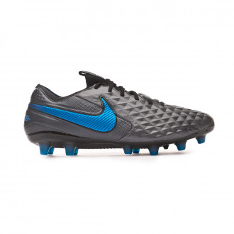 Bota Nike Tiempo Legend VIII Elite AG-Pro Black-Blue hero