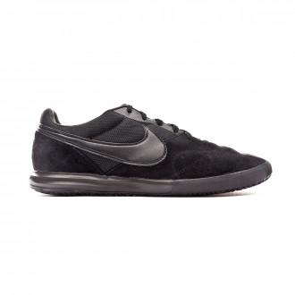 Zapatilla Nike Tiempo Premier II Sala IC Black