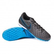 Chaussure de football Tiempo Legend VIII Academy Turf Black-Blue hero