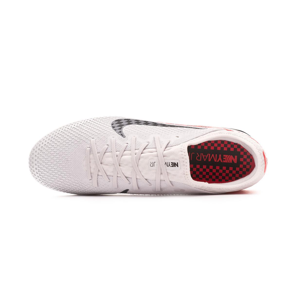 capitán miembro Igualmente  Futsal Boot Nike Mercurial Vapor XIII Pro IC Neymar Jr Platinum  tint-Black-Red orbit - Football store Fútbol Emotion