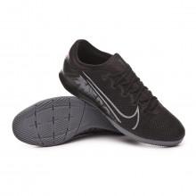 Futsal Boot Mercurial Vapor XIII Pro IC Black-Metallic cool grey-Blue fury
