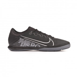 Chaussure de futsal Nike Mercurial Vapor XIII Pro IC Black-Metallic cool grey-Blue fury