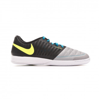 Zapatilla Nike Lunar Gato II Black-Volt-Wolf grey-Light current blue