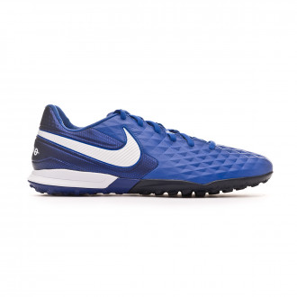 Chaussure de football Nike Tiempo Legend VIII Pro Turf Hyper royal-White-Deep royal blue
