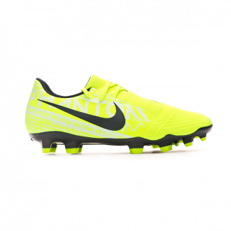 Zapatos de fútbol Nike Phantom Venom Academy FG Volt-Obsidian