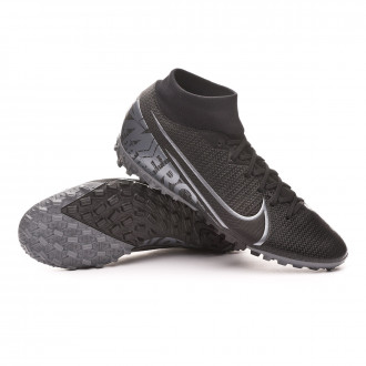 Mercurial Superfly VII Academy Turf Black-Metallic cool grey