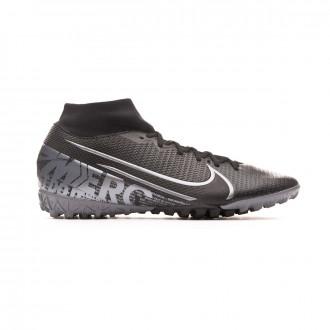 Zapatilla Nike Mercurial Superfly VII Academy Turf Black-Metallic cool grey