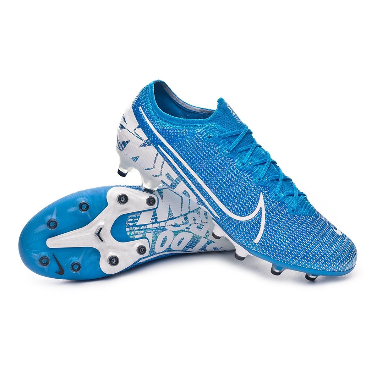Buenos precios color rápido fotos oficiales Football Boots Nike Mercurial Vapor XIII Elite AG-Pro Blue hero ...