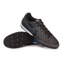 Chaussure de futsal React Tiempo Legend VIII Pro IC Black-Blue hero