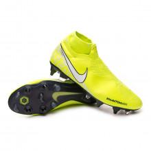 Football Boots Phantom Vision Elite DF ACC SG-Pro Volt-White-Barely volt