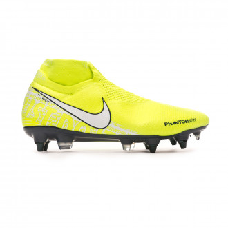 Chaussure de foot Nike Phantom Vision Elite DF ACC SG-Pro Volt-White-Barely volt