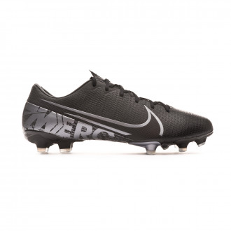 Football Boots Nike Mercurial Vapor XIII Academy FG/MG Black-Metallic cool grey