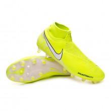 Football Boots Phantom Vision Elite DF AG-Pro Volt-White-Barely volt