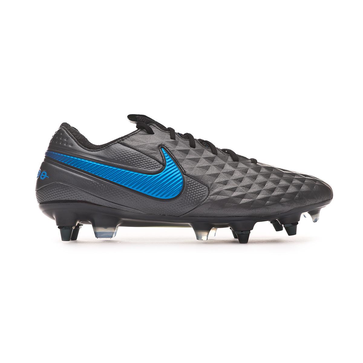 Estresante Alcalde africano  Football Boots Nike Tiempo Legend VIII Elite SG-PRO Anti-Clog Traction Black-Blue  hero - Football store Fútbol Emotion