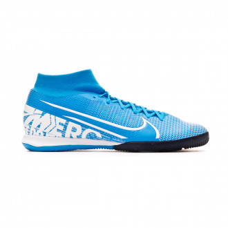 Zapatilla Nike Mercurial Superfly VII Academy IC Blue hero-White-Obsidian