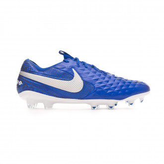 Zapatos de fútbol Nike Tiempo Legend VIII Elite FG Hyper royal-White-Deep royal blue