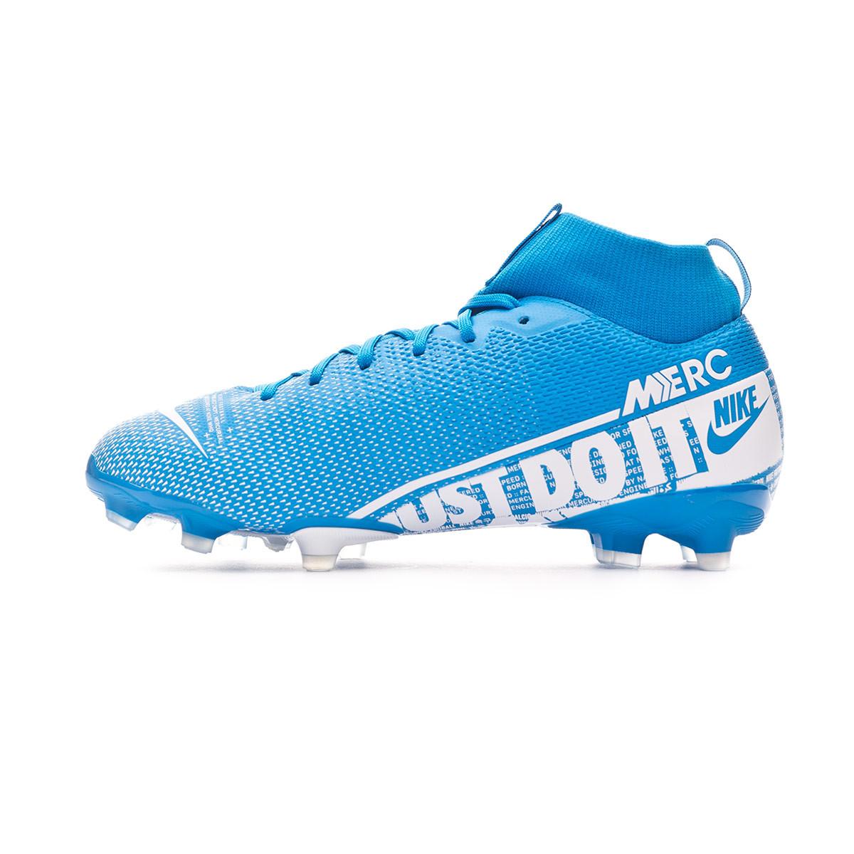 habilidad abortar Serafín  Zapatos de fútbol Nike Mercurial Superfly VII Academy FG/MG Niño Blue  hero-White-Obsidian - Tienda de fútbol Fútbol Emotion