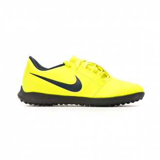 Chaussure de football Nike Phantom Venom Club Turf Niño Volt-Obsidian