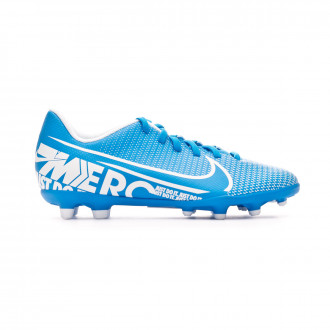 Bota Nike Mercurial Vapor XIII Club FG/MG Niño Blue hero-White-Obsidian