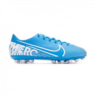 Chaussure de foot Nike Mercurial Vapor XIII Academy AG-Pro Enfant Blue hero-White-Obsidian