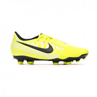 Zapatos de fútbol Nike Phantom Venom Academy FG Niño Volt-Obsidian
