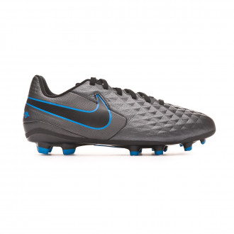Bota Nike Tiempo Legend VIII Academy FG/MG Niño Black-Blue hero