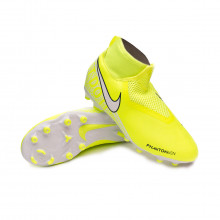 Football Boots Phantom Vision Academy DF FG/MG Niño Volt-White