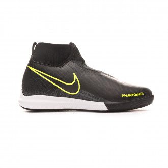 Chaussure de futsal Nike Phantom Vsion Academy DF IC Niño Black-Volt
