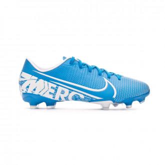 Chaussure de foot Nike Mercurial Vapor XIII Academy FG/MG Enfant Blue hero-White-Obsidian