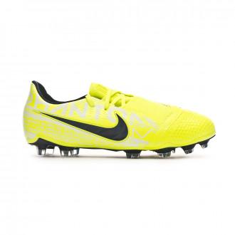Zapatos de fútbol Nike Phantom Venom Elite FG Niño Volt-Obsidian