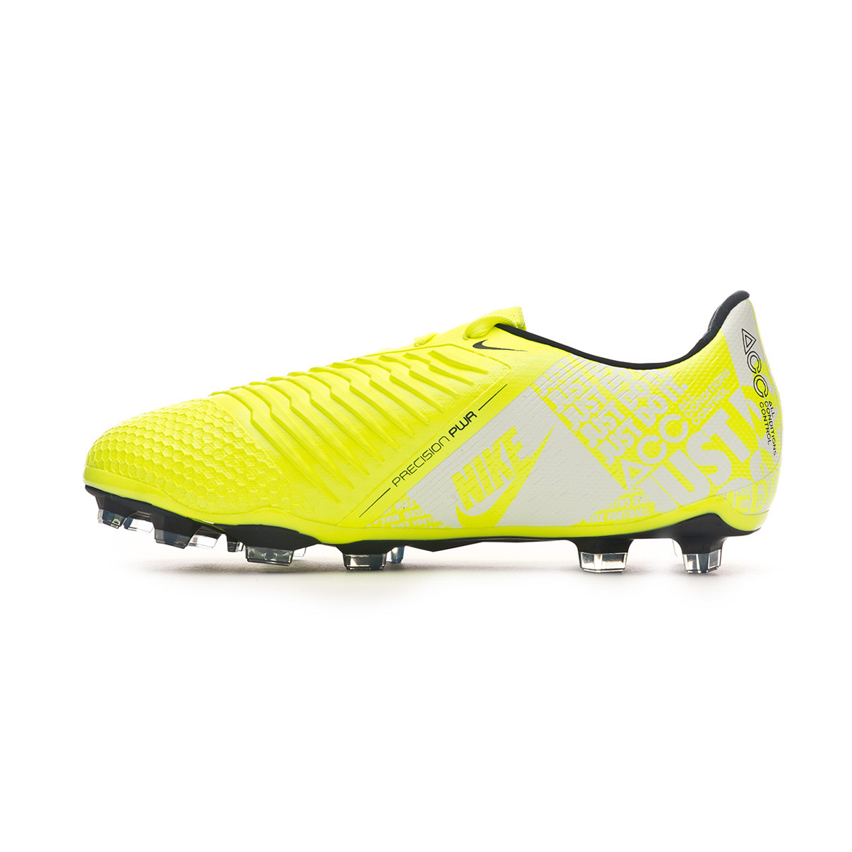 top fashion 8598a c15c5 Bota Phantom Venom Elite FG Niño Volt-Obsidian