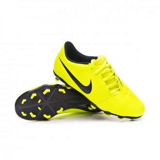 Zapatos de fútbol Nike Phantom Venom Club FG Niño Volt-Obsidian