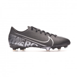 Football Boots Nike Mercurial Vapor XIII Academy FG/MG Niño Black-Metallic cool grey-Chrome