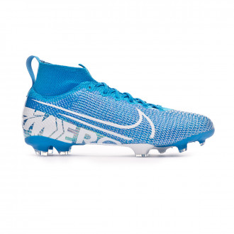 Football Boots  Nike Mercurial Superfly VII Elite FG Niño Blue hero-White-Obsidian
